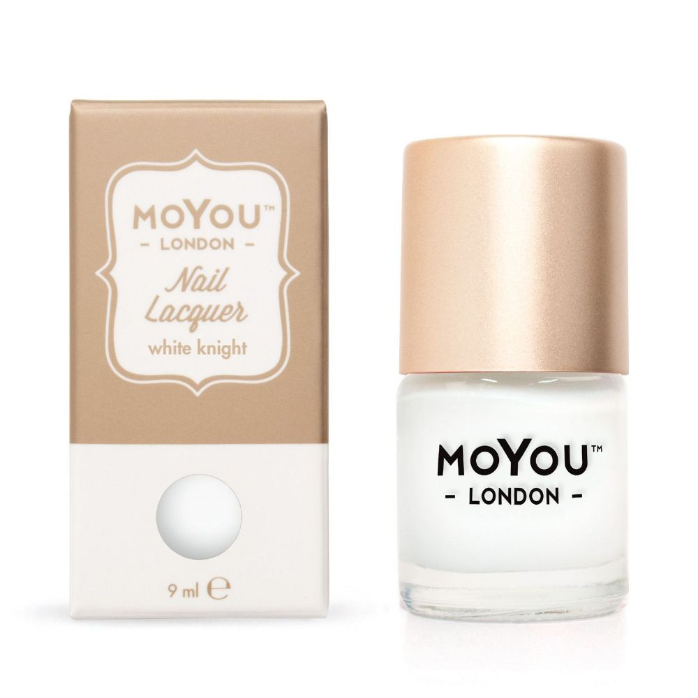 MoYou LONDON STAMPING POLISH - WHITE KNIGHT 9ml varnish